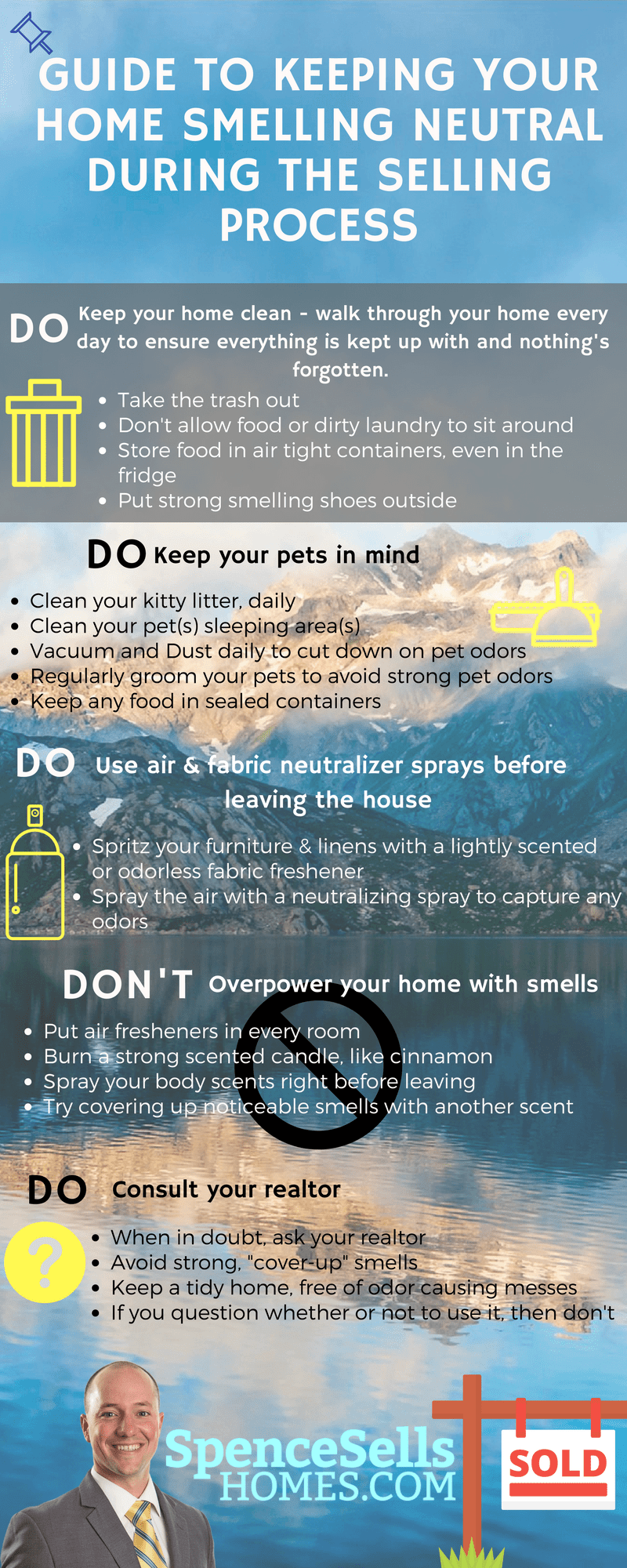 Guide to Keep your Home Smelling Neutral During the Selling Process