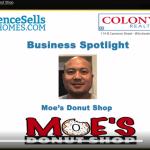 business highlight Moe's Donut Shop
